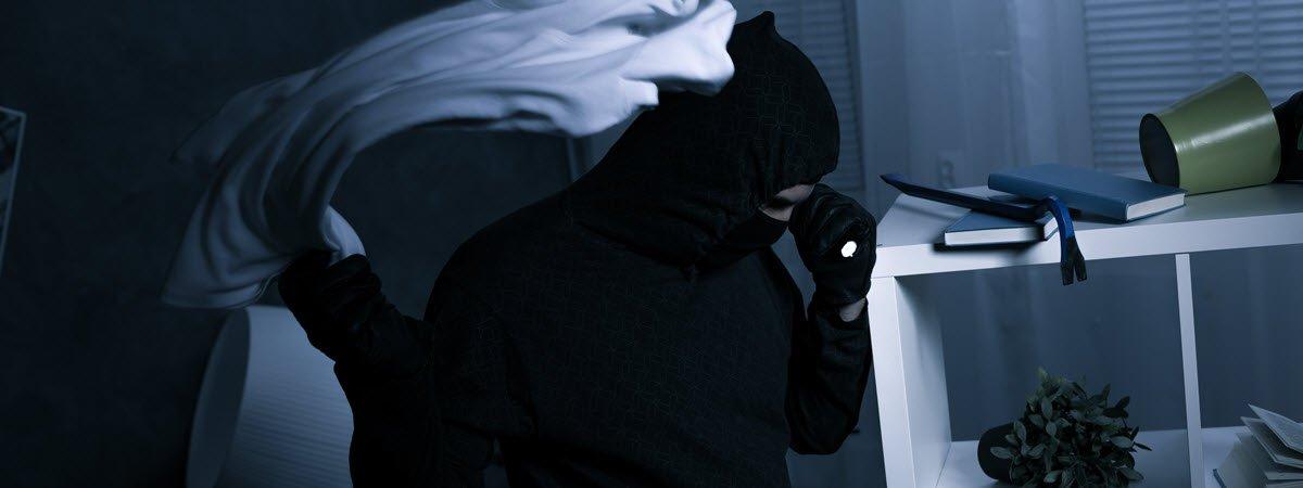 Thorpe Bay burglar ransacks home